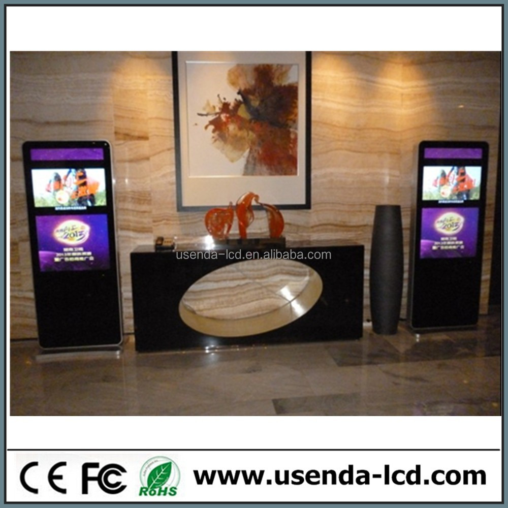 65inch six vedio media ad player/advertising display/digital signage