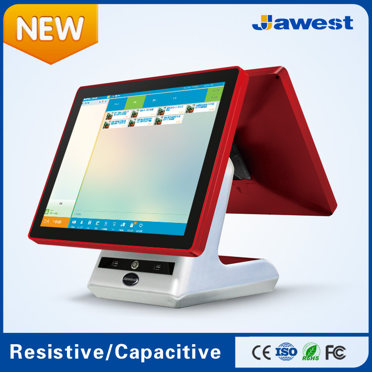 Factory price capacitive touch screen cash register/pax d200 wireless pos terminal