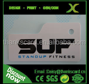 Free Design !!!Barcode plastic key tags/ PVC keychain cards for fitness center