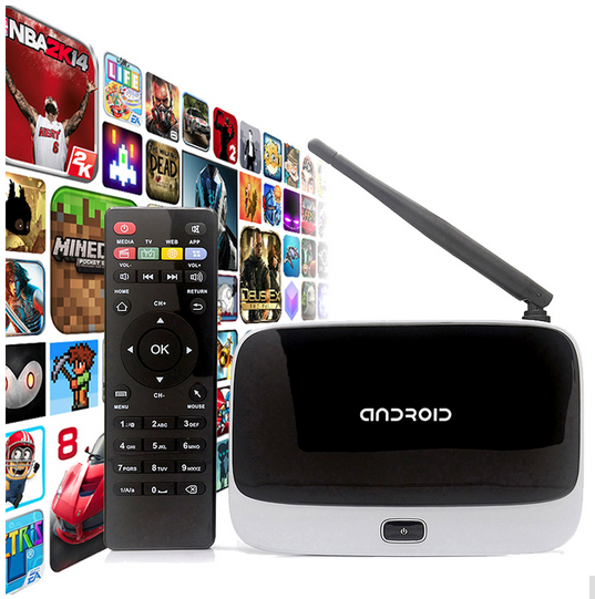 new arrival quad core android 4.4 ott tv box m8 k 200 firmware 2015 newest factory wholesale cs918 android tv box