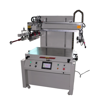 High precision plain object screen printing machine