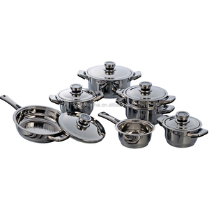 Chinese 12 Pcs stainless steel kitchenware creative