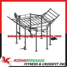 360 Gym Training Crossfit rig .Crossfit rack.Pull up rig system