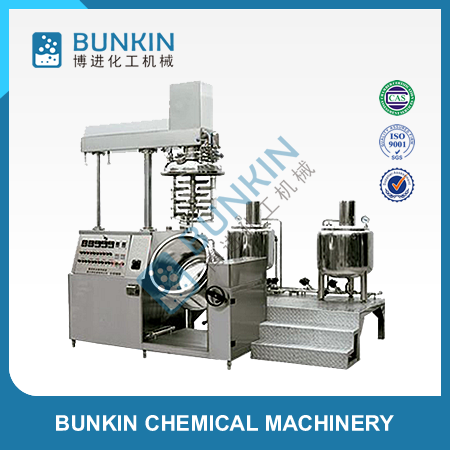 Cosmetic chemical vacuum emulsifying mixer