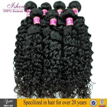 Unprocessed 100 Percent Human Deep Curly Hair Weave Bulk Human Hair For Braiding