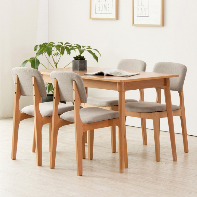 simple style coffee shop comfortable ash wooden dining leisure <strong>chair</strong>