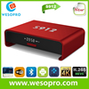 New android 5.1 tv box S912 Q-BOX amlogic s912 hot sell iptv box for USA UK France Italy media player