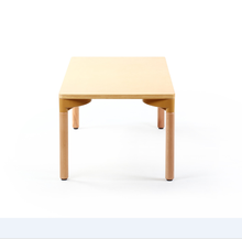 Wholesale environmental high quality best sale birch plywood children table chair for kids study