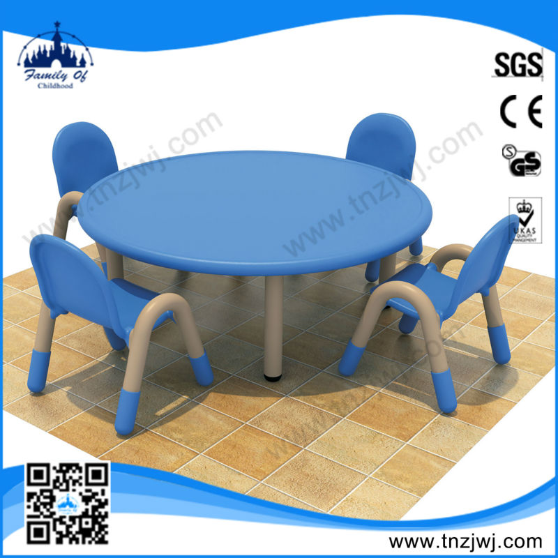 CE certificated Daycare plastic children table and chairs set