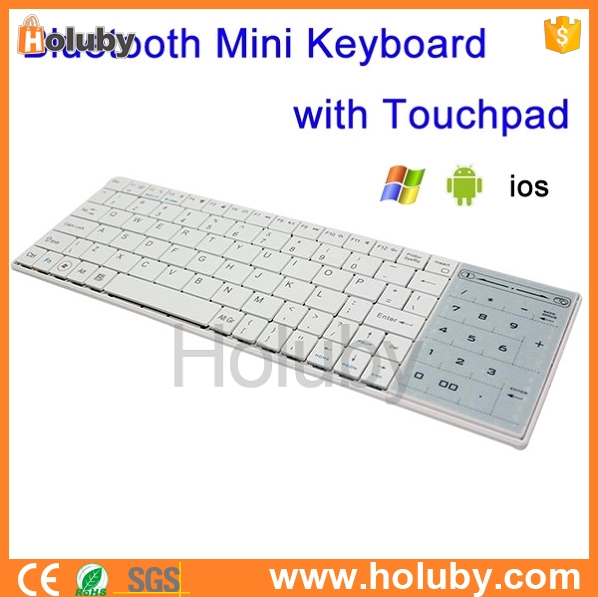 High quality Universal 2 in 1 Bluetooth mini Keyboard with Touchpad Mouse Support Bluetooth Calculator Function