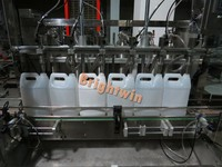 factory price automatic engine oil/ brake oil filling capping machine