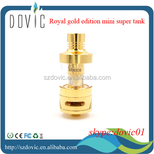 Royal gold edition mini super tank with 24K Gold Plated