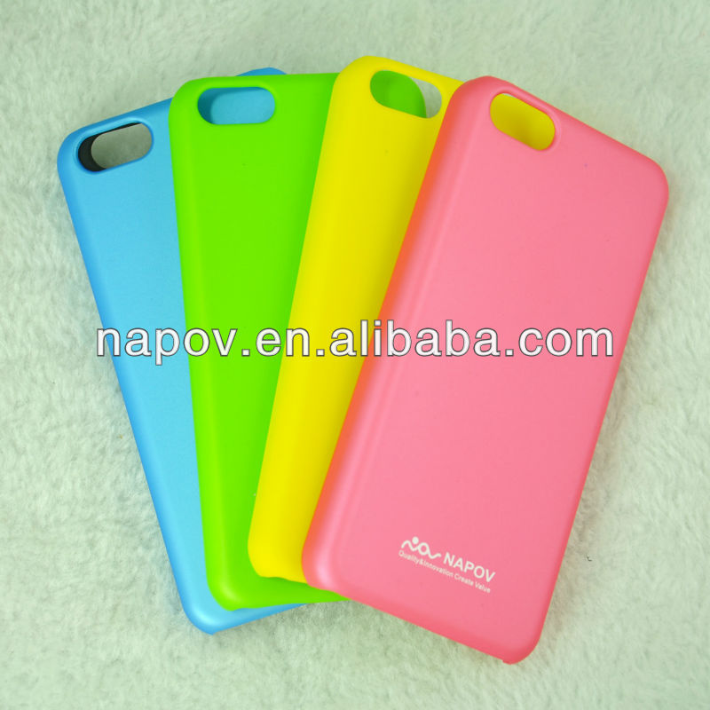 High Quality Rubberized OEM ODM Mobile Phone Case for iPhone 5c