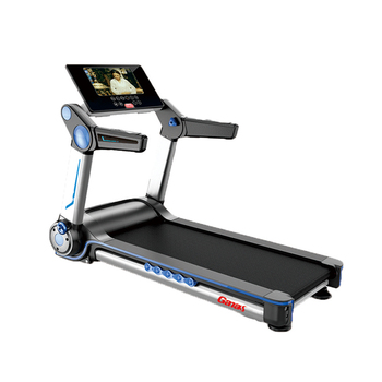 Ganas house fit intelligent treadmill with tv walking machine/exercise equipment aerofit home use android treadmill