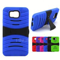 Fashion Anti-Shock Hybrid Combo Case Hard PC+Silicone Back Cover for Nokia Lumia 730