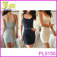 Plain Jersey Tank Dress Available In Many Colors Ladies Sexy Mini Dress Hot Girls