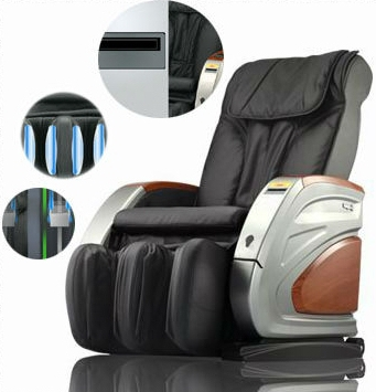 USA Best Sale Good Leather Bill Operated Massage Chair RT-M02