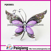 Beautiful pictures of butterfly costume jewelry cheap rings for girls