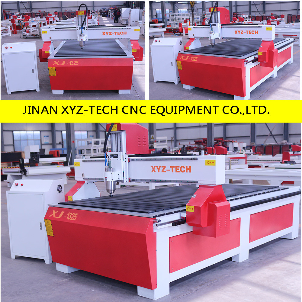 high precision cheap XJ1325 3D wood metal Engraving Cutting cnc router Equipment for Making Furniture Machine