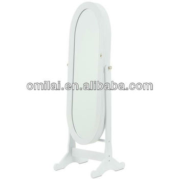 New design oval-shaped jewelry cabinet mirror