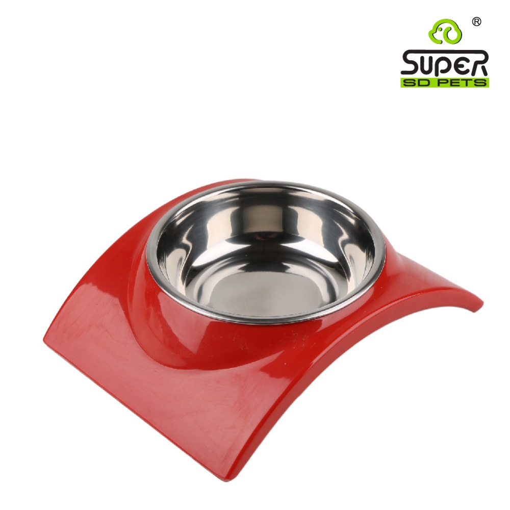 Fashion Plastic Melamine Dog Bowl