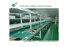 size-customized small portable stainless roller conveyor
