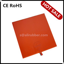 Silicone Rubber Thermal Heater/Hot Bed For 3D Printer 250 x 250MM 12V 250W
