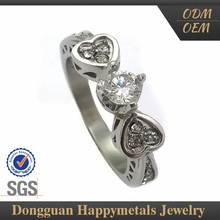 Delicate Customization Indian Rose Cut Diamond Ring Jewelry
