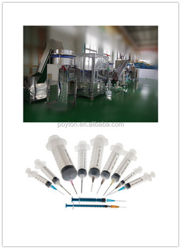 POYTON high stardand syringe assembly machinery