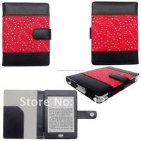 With Diamond Designs Hot Selling Flip Tablet Fancy Case For Kindle