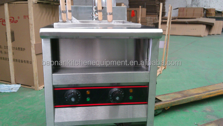 Catering Equipment 4 Basket Electric Pasta Boiler/ Noodle Cooker made in china
