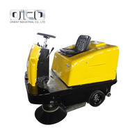 OR-C200 Powerless Vacuum Sweeper Ground Cleaning Machine Battery Electric Cleaner Vacuum Street Sweeper