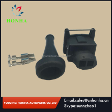 EV1 2 pin female fuel Injector automotive connector with robber boots