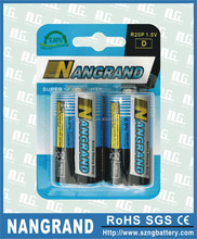 price of r20 size d dry cell battery