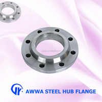 Best price AWWA carbon steel hub flange for website buyer