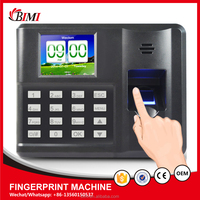 Simply operation fingerprint biometric attendance time recorder machine FP-82