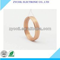 Copper pancake air coil