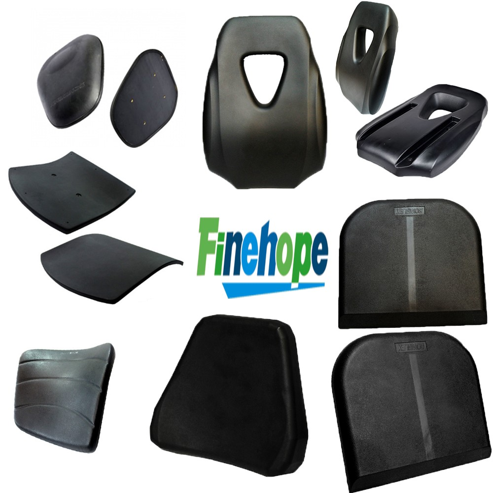 OEM Customize logo PU waterproof back rest cushion car seat back support cushion