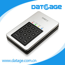 Datage Western Digital External Hard Drive With AES-256bit Numerical Keypad