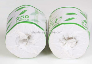 Private Label Recycled Pulp Material Tissue Toilet Paper