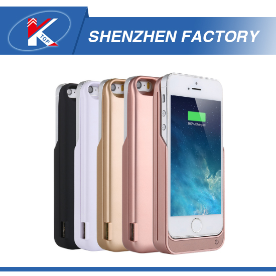 Shenzhen Factory JLW OEM Power Bank Case for iPhone 5 5S SE Unique Battery Case for iPhone ABS Material High Quality