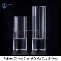 Modern style special design lead crystal rose flower vase in many style
