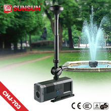 factory direct sale SUNSUN Low Noise 600L/h 10W Garden Pond Water fountain pump