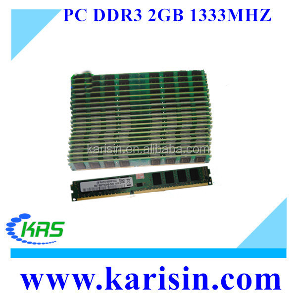 Factory price full compatible ddr3 PC3-10600 1333mhz 2gb ram used for desktop