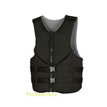 Custom neoprene life jacket swimming vest for adults