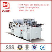 cheap hot dog box/fast food box print machine with CE standard