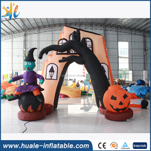 Best sales inflatable halloween wizard arch for decoration