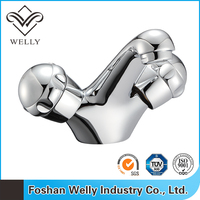 2015 European Style Dual Handle Brass Basin Faucet Alibaba Online Shopping