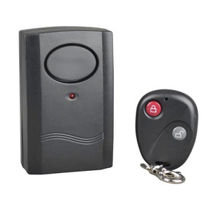 1PC Security Wireless Remote Control Vibration Motorcycle Car Detector Burglar Alarm
