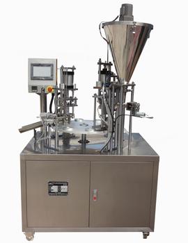 automatic nespresso capsule coffee fill seal machine